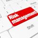 "Button ""Risk management"" on keyboard"