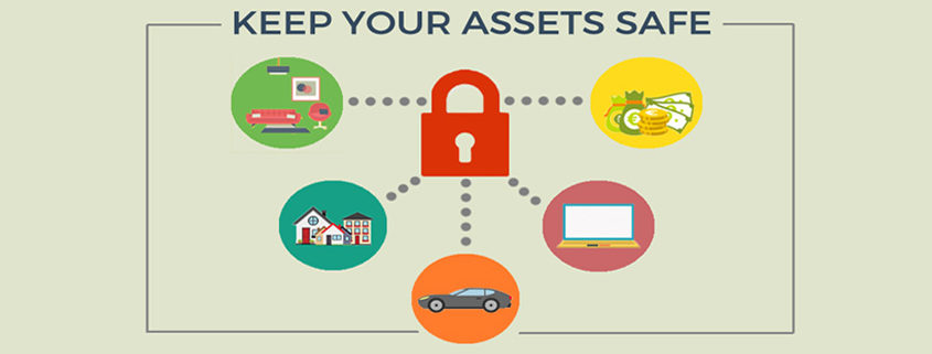 infographic on how to keep your business assets safe